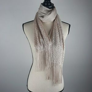 Gold Sparkle Scarf 75""